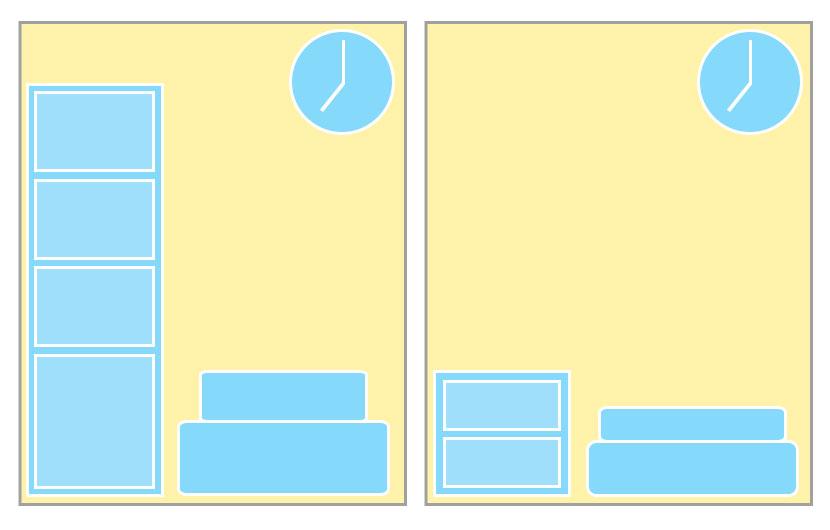 狭い空間を上手に使う!部屋を広く見せるレイアウト