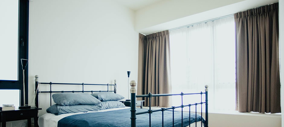 寝室でのカーテンの選び方