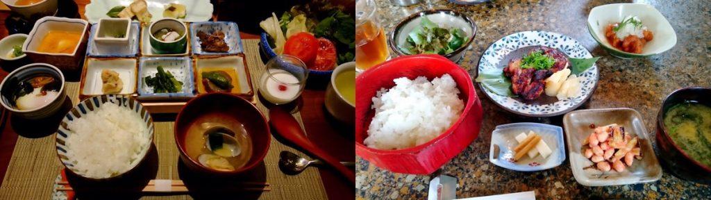和食のセッティング例