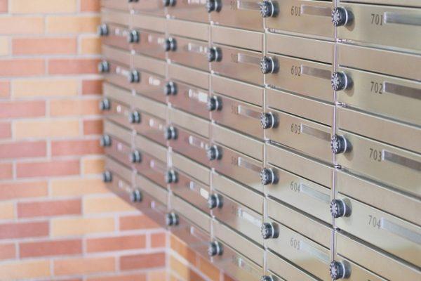 マンションのメールボックス