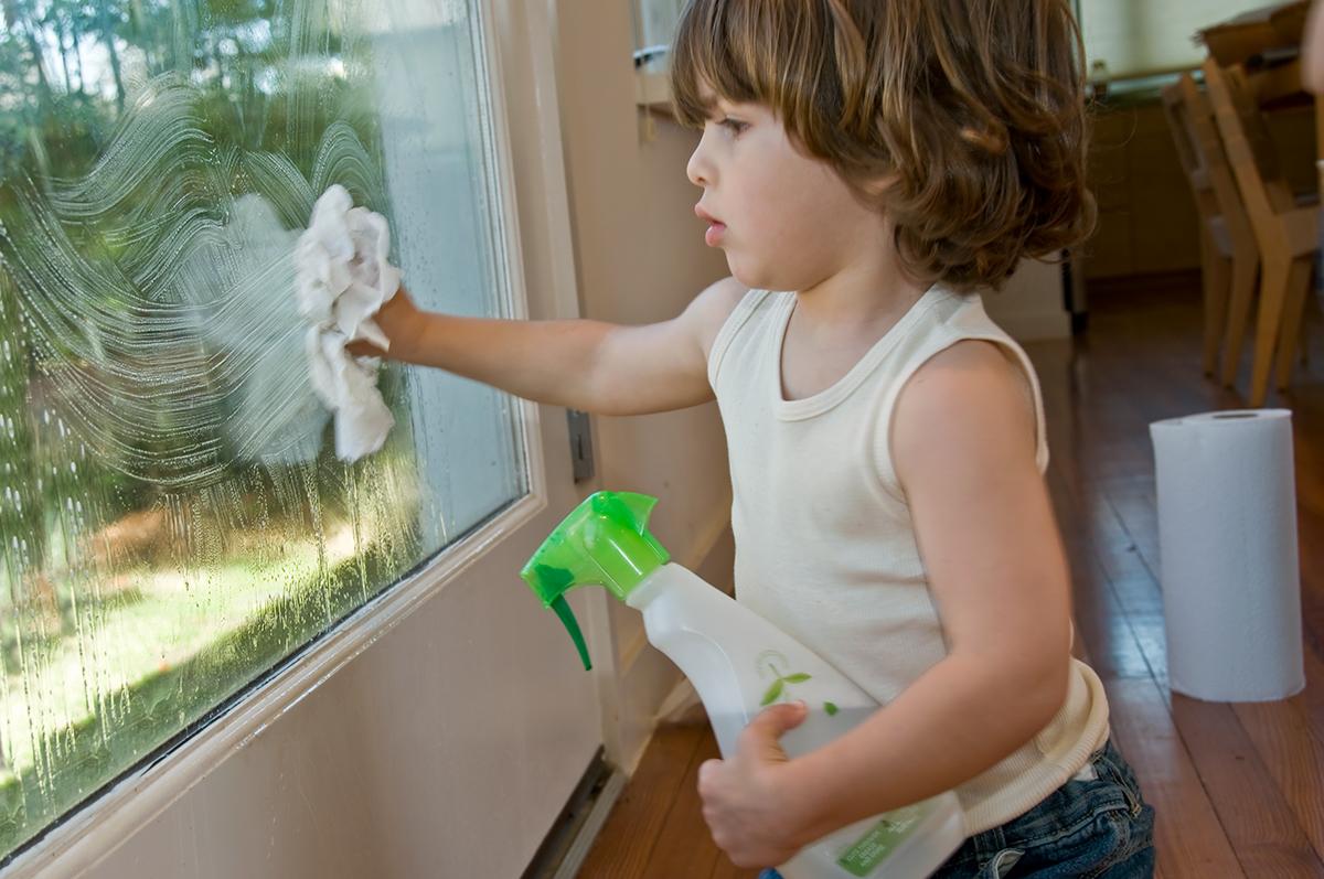 掃除 方法 窓