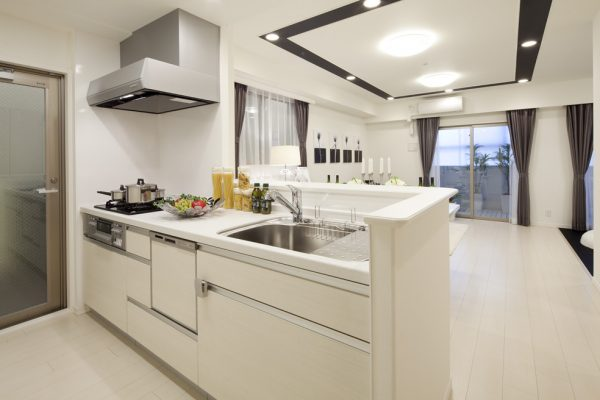 対面式のI型キッチン