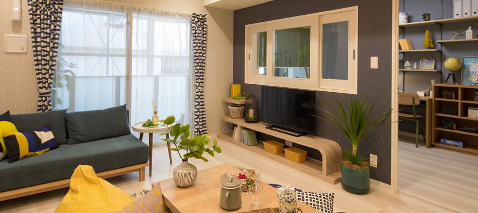 食べる+くつろぐを快適にする家具配置
