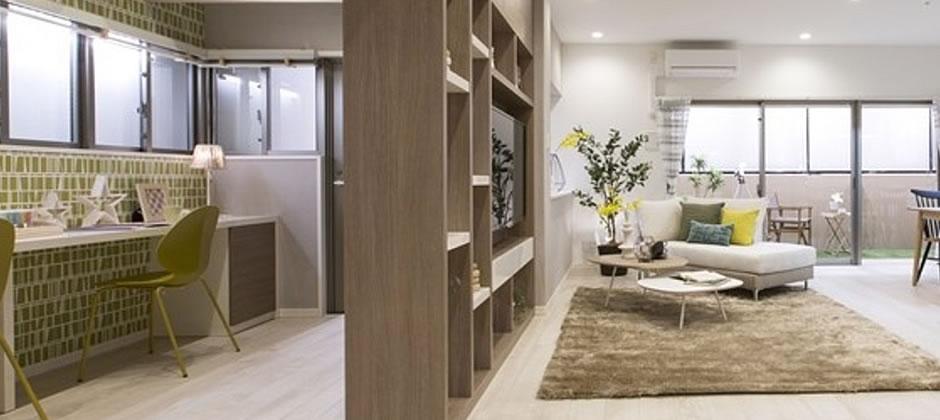 くつろぐ+仕事・勉強に勤しむを快適にする家具配置