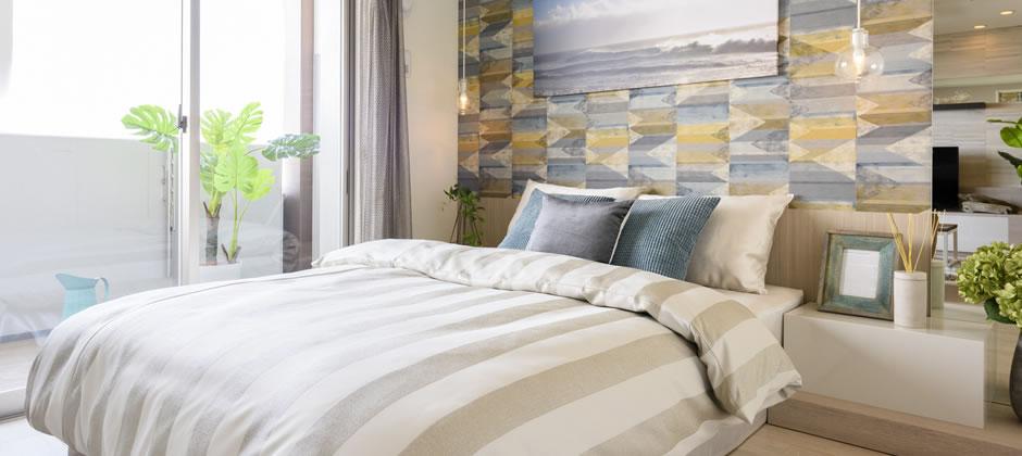 寝る+くつろぐを快適にする家具配置