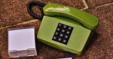 固定電話の写真