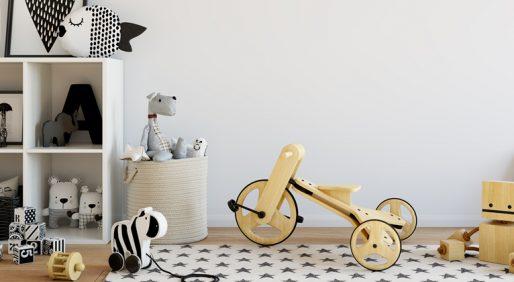 はじめての子育てでも安心、大人も子供も満足できる可愛い子供部屋の作り方