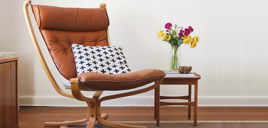 ジェネリック家具を取り入れた「くつろぎ空間」