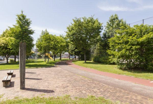 笹原中央公園の遊歩道