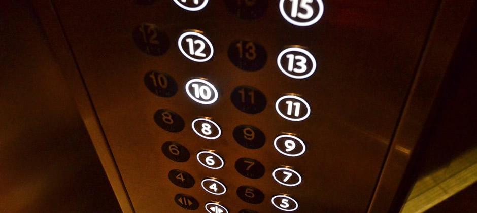 エレベーター利用で楽ラク