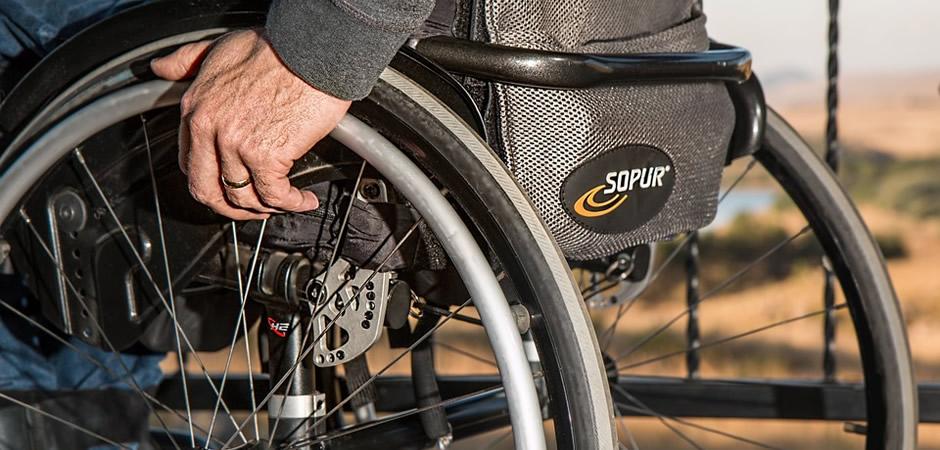 車椅子での生活