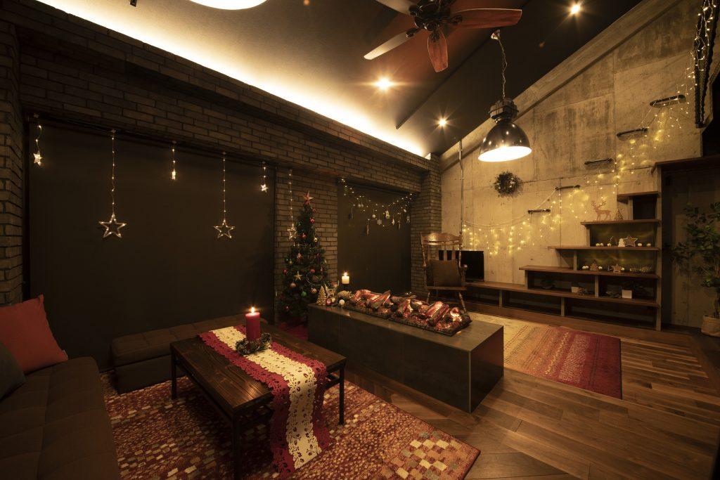 クリスマスパーティーコーディネート