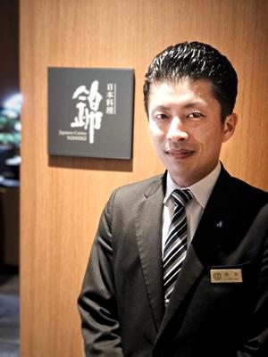 ロイヤルパークホテル高松 日本料理 錦 店長 末友 敏郎(すえとも としろう)