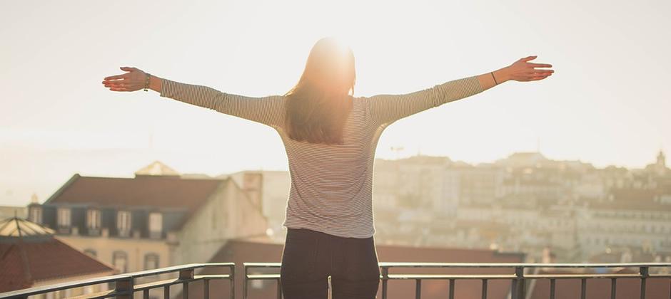 朝が明るく気持ちが良い