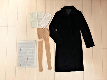 コート・ジャケットのたたみ方1