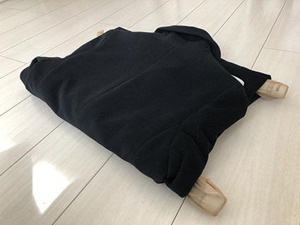 コート・ジャケットのたたみ方3