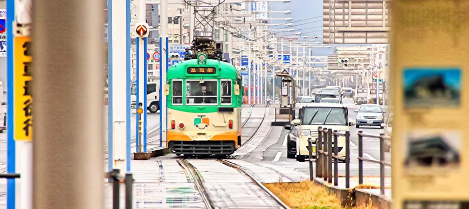 電車通りイメージ
