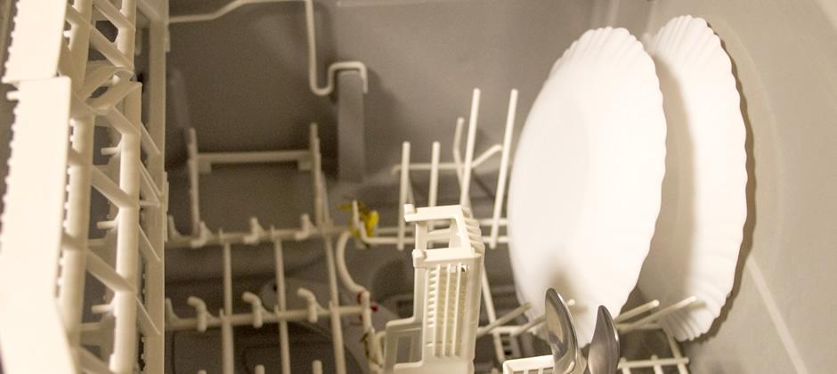 食洗機の掃除を実践