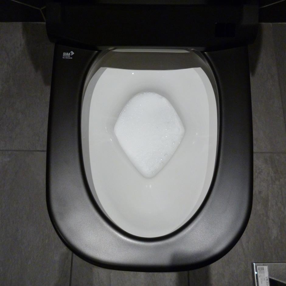 LIXIL:泡洗浄トイレ