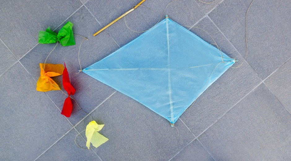 ミニ凧を作る