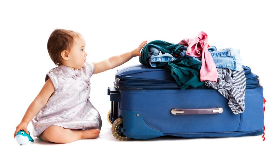 【チェックリスト付き】赤ちゃんと旅行♪失敗しない持ち物リストと、荷物を減らす4つの方法