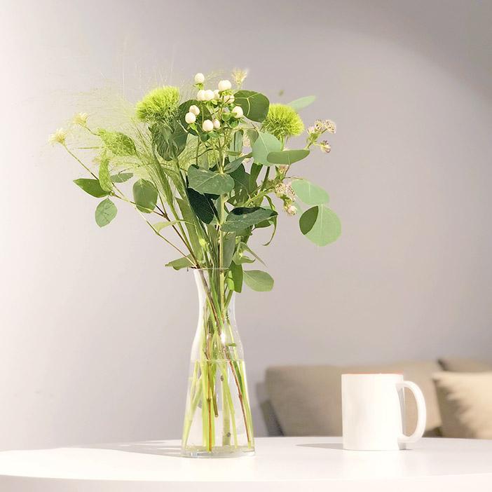グリーンの花束