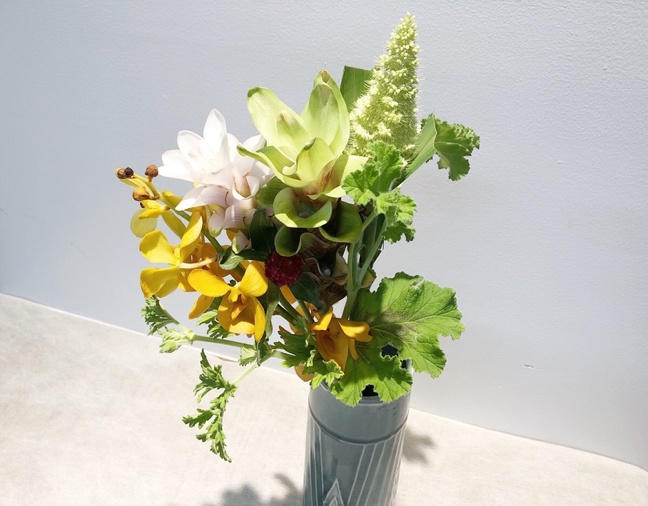 クルクマの花束