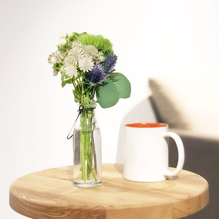 手毬草の花束