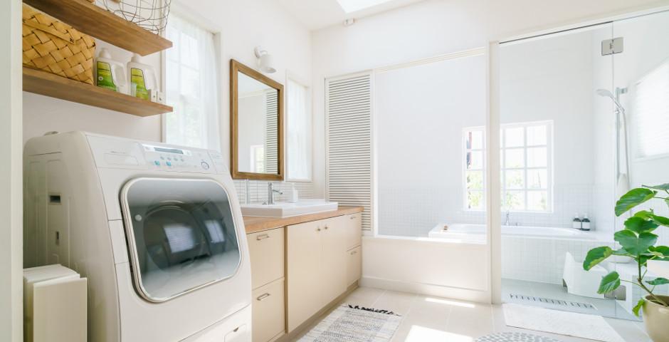 来客にも困らない、洗濯機周りをおしゃれに魅せるコツ