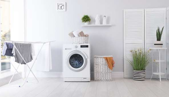 出し入れも掃除も楽ちん!洗濯機周りを快適にする収納アイデア