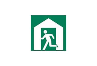 避難所図記号