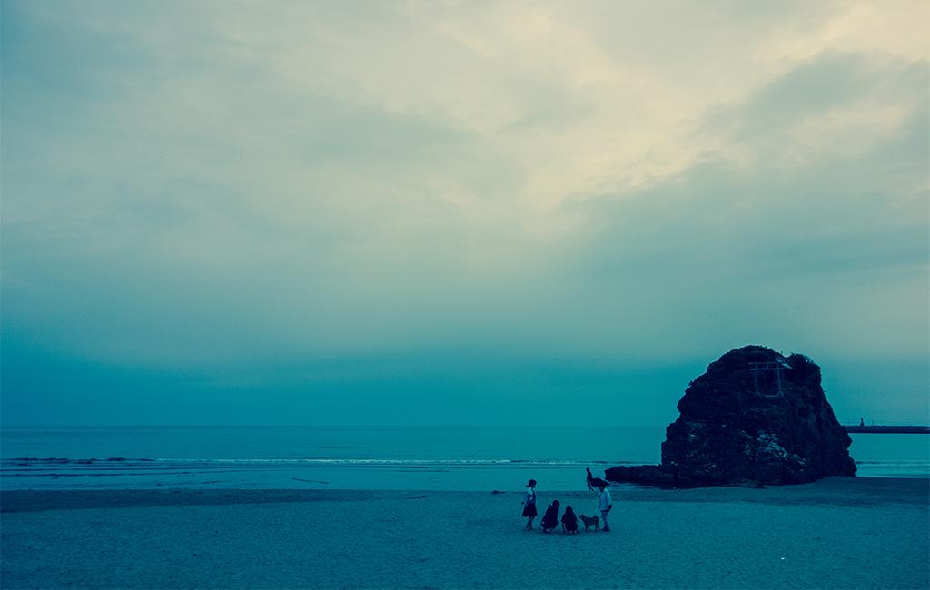 国譲りの稲佐の浜