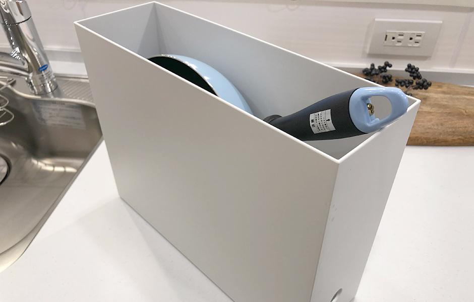 引き出し収納にはファイルボックスを使うのが便利