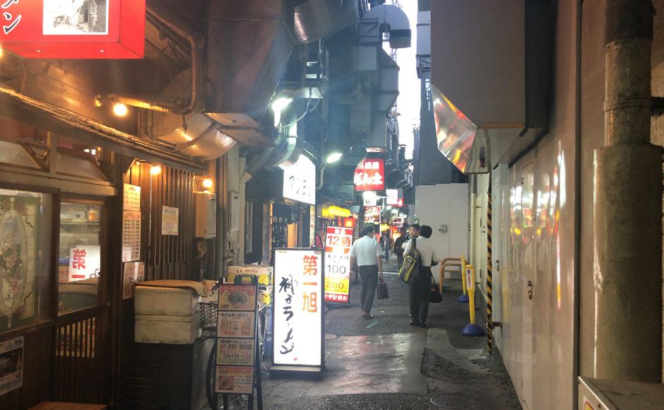神戸三宮周辺飲食街