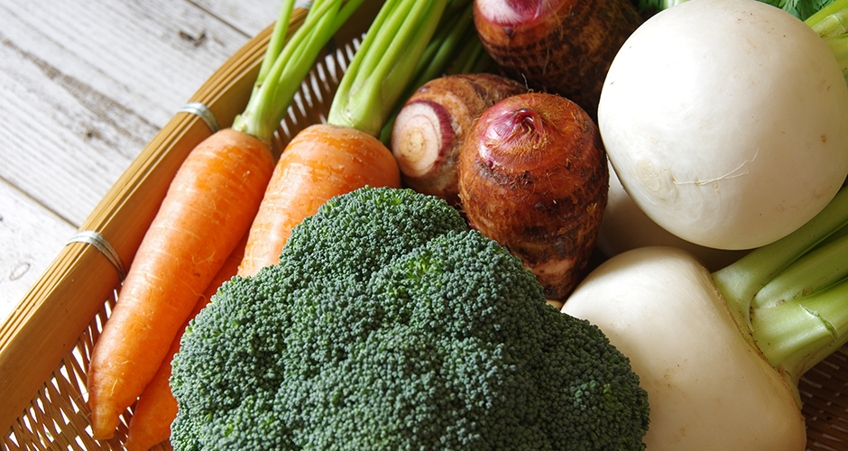 冬野菜のチカラ
