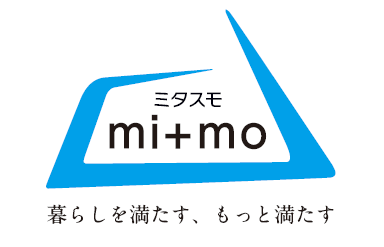 mi+mo(ミタスモ)ロゴ