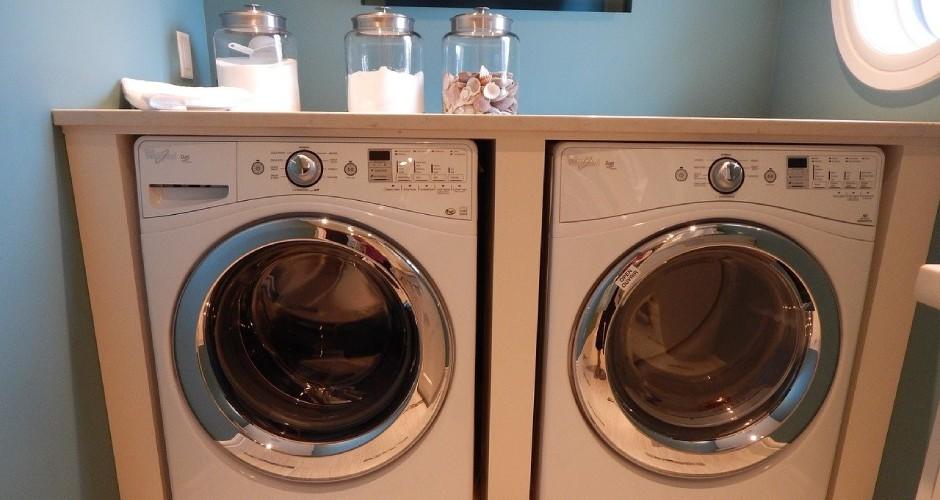 ドラム式洗濯機の水抜き