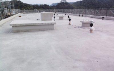 防水前屋根躯体