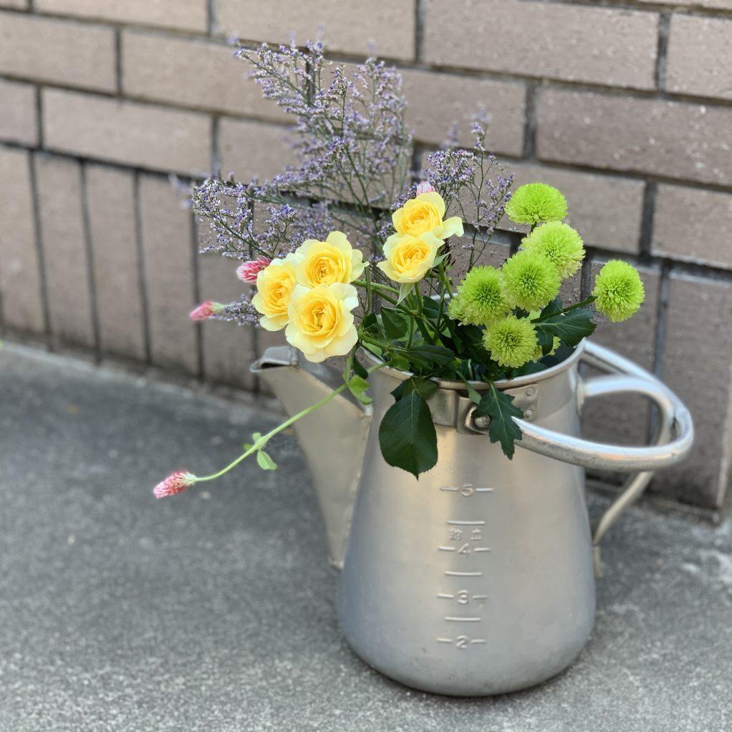 花を休ませる