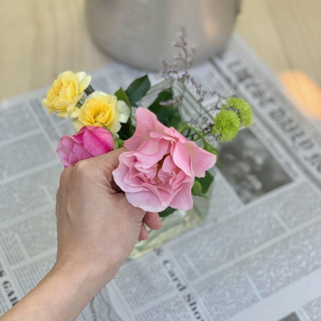花を生ける