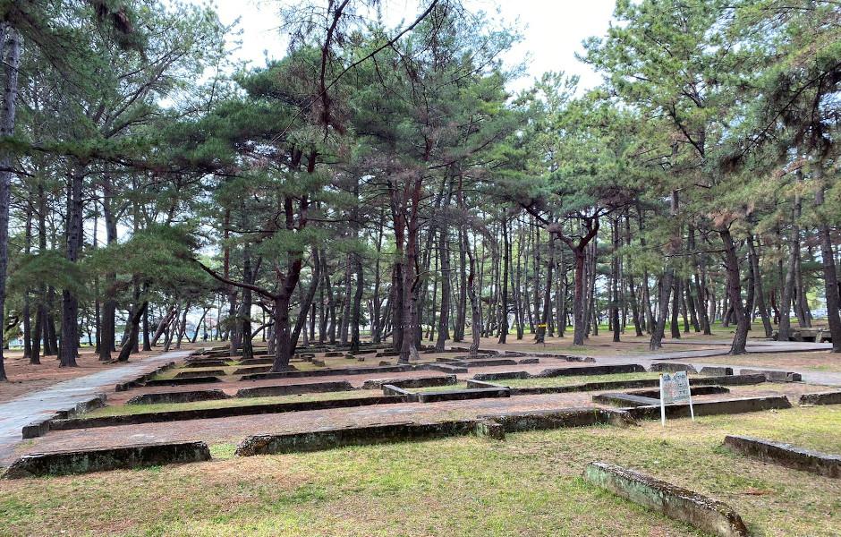 陸軍航空学校の兵舎跡