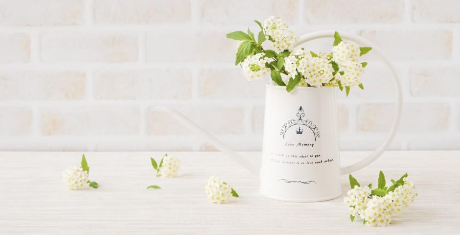ジョーロの花瓶