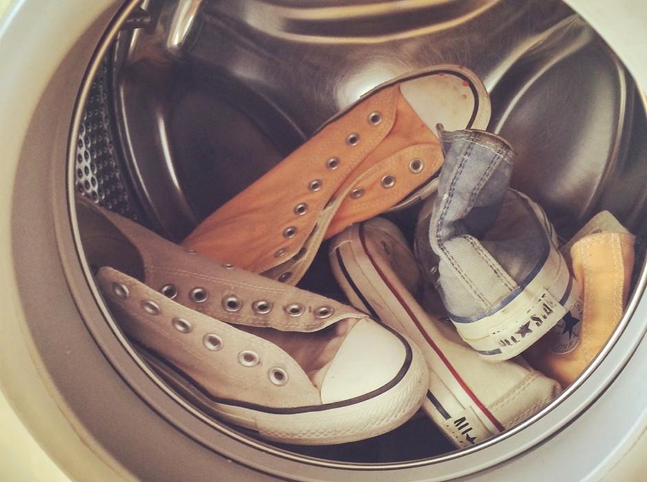 洗濯機を使った靴の洗い方