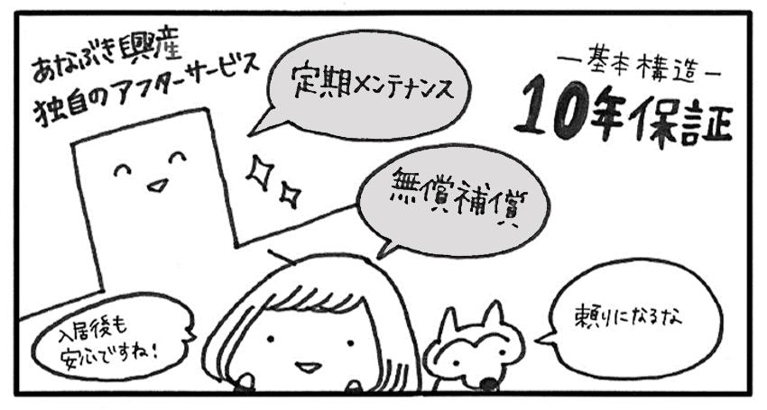 アフターサービス編