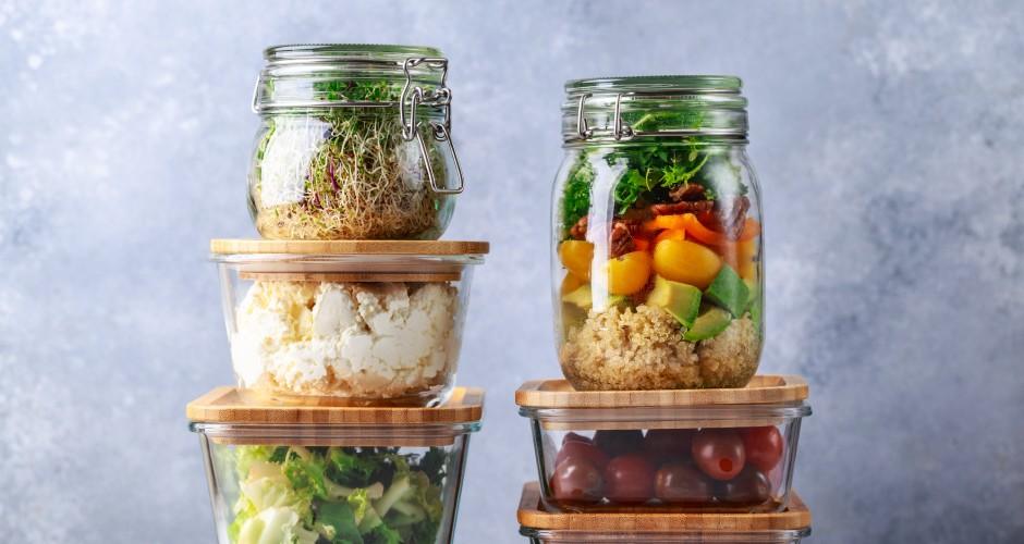 食材の保存容器