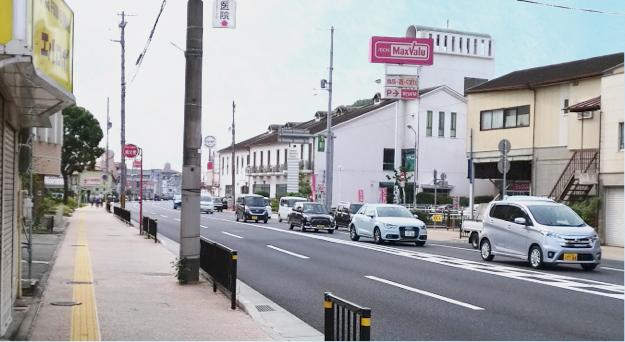 姫路城西側散歩コース2