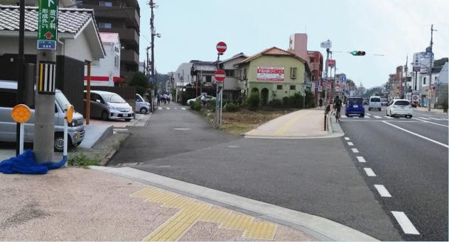 姫路城西側散歩コース3