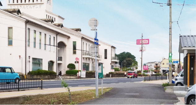 姫路城西側散歩コース4