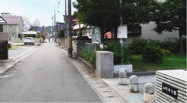 姫路城西側散歩コース6