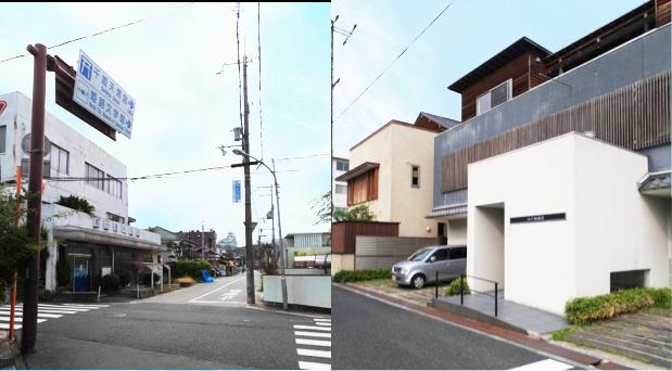 姫路城西側散歩コース7